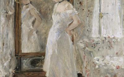 """22.11.20 – Berthe Morisot – """"Psyché"""" (Der Psyche-Spiegel) (1875-76)."""