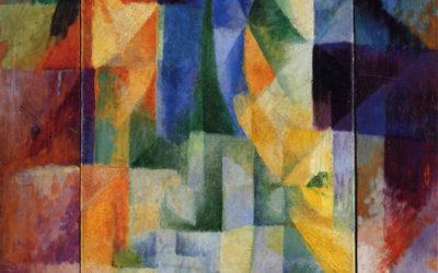 """03.01.21 – Robert Delaunay – """"Fensterbild (Les Fenêtres simultanées sur la ville"""" (1912)."""