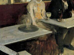 """25.10.20 – Edgar Degas – """"Der Absinth"""" (1875-76)."""