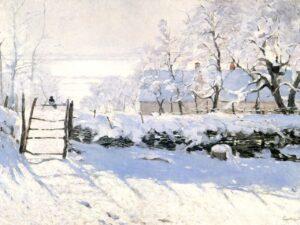 "13.12.20 – Claude Monet – ""Die Elster"" (1868-1869)."