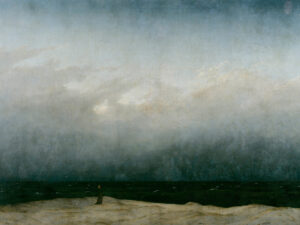 "31.01.21 – Caspar David Friedrich – ""Mönch am Meer"" (1808-1810)."