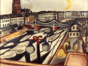 """14.02.21 – Max Beckmann – """"Eisgang"""" (1923)."""