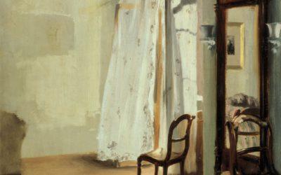 """28.02.21 – Adolph Menzel – """"Das Balkonzimmer"""" (1845)."""