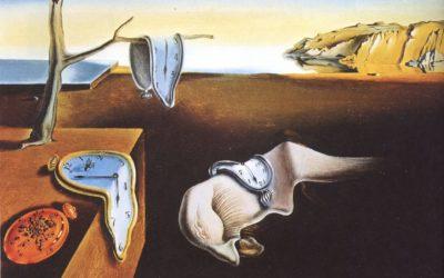 """28.03.21 – Salvador Dalí – """"Die Beständigkeit der Erinnerung"""" (1931)."""