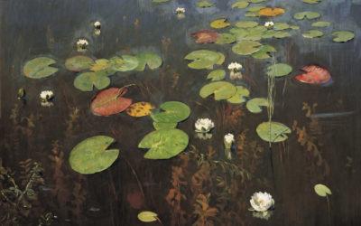 """11.04.21 – Isaac Levitan – """"Wasserlilien"""" (1895)"""
