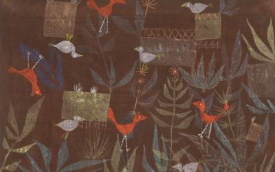 """18.04.21 – Paul Klee – """"Vogelgarten"""" (1924)."""