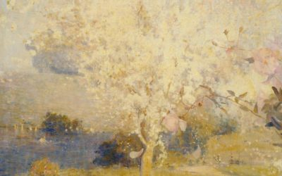 "02.05.21 – Charles Conder – ""Springtime"" (1892)."