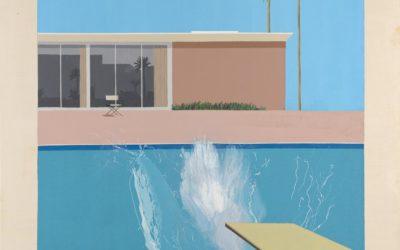 """09.05.21 – David Hockney – """"A Bigger Splash"""" (1967)"""