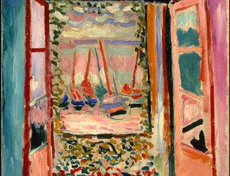 "27.06.21 – Henri Matisse – ""Offenes Fenster in Collioure"" (1905)."