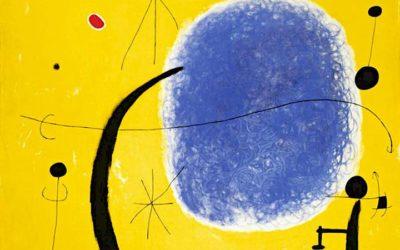 "20.06.21 – Joan Miró – ""Das Gold des Azurs"" (1967)."