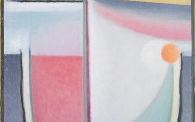 """11.07.21 – Alexej von Jawlensky – """"Abstrakter Kopf: Sinfonie in Rosa"""" (1929)."""
