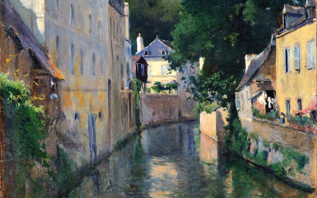 """05.09.21 – Aureliano de Beruete – """"El río Isole"""" (1901)."""