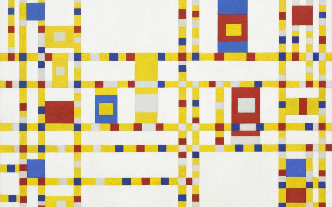 """12.09.21 – Piet Mondrian – """"Broadway Boogie Woogie"""" (1942/43)."""